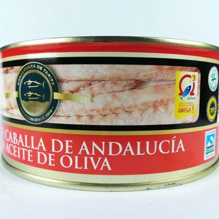 Makrelenfilet Caballa traditionell hergestellte Fischkonserve in Olivenöl 975g