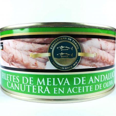 Fregattmakrelenfilet Melva Canutera traditionell hergestellt in Olivenöl 975g