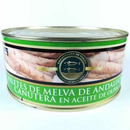 Fregattmakrelenfilet Melva Canutera traditionell hergestellte Fischdose in Olivenöl 975g