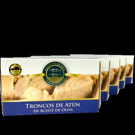 Thunfisch in Olivenöl de Tarifa 5 x 120g Extraklasse aus Spanien