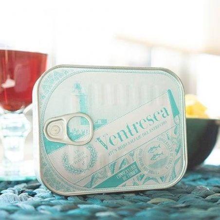 Bauchfleisch Ventresca vom Roten Thunfisch in Olivenöl Edel Fisch Dosen TarifaFisch