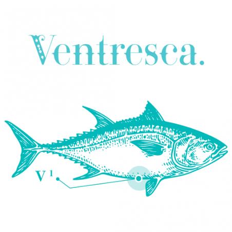 Bauchfleisch Ventresca vom Roten Thunfisch in Olivenöl Edel Fisch TarifaFisch