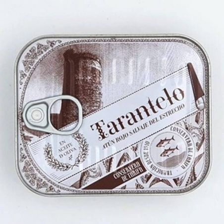 Bauchfleisch Tarantelo vom Roten Thunfisch in Olivenöl bester Thunfisch in der Dose und der Welt TarifaFisch