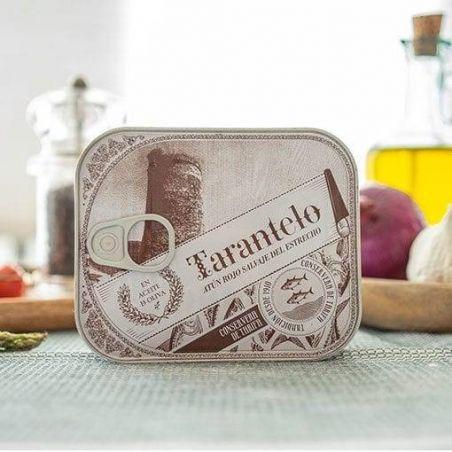 Bauchfleisch Tarantelo vom Roten Thunfisch in Olivenöl Spitzen Qualität TarifaFisch