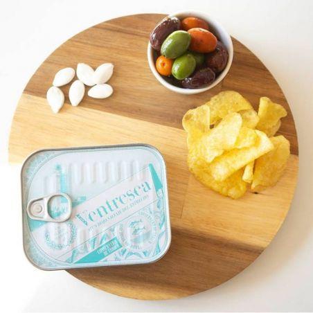 Ventresca Bauchfleisch roter Thunfisch mit Olivenöl