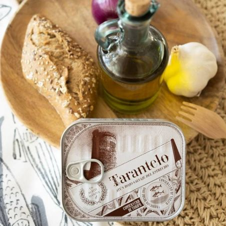 Das Beste vom Roten Thunfisch Tarantelo in Olivenöl Spitzen Qualität TarifaFisch