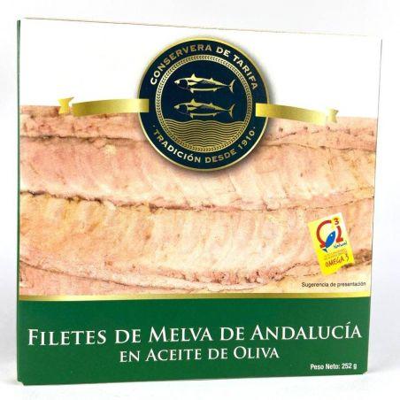 Fregattmakrele in Olivenöl de Andalucía 252g