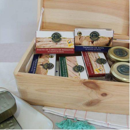 Fischkonserven Box TarifaFisch Millieu