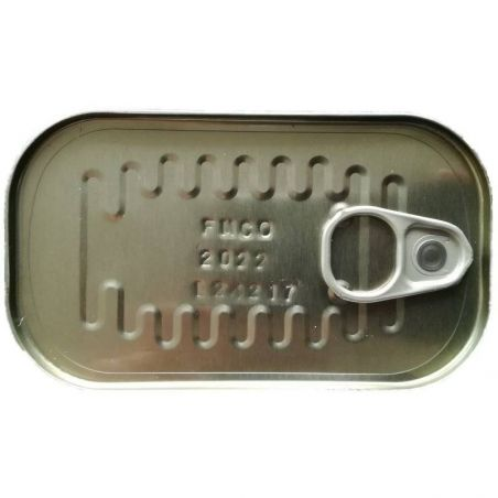 Fischdose 125 mit Ringverschluss TarifaFisch