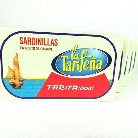 5er Set Ölsardinen TarifaFisch 120g