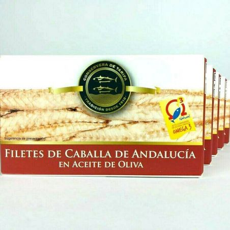 5er Set Makrelen in Olivenöl de Andalucia  120g TarifaFisch
