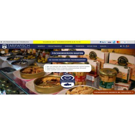 TarifaFisch Fischkonserven Onlineshop
