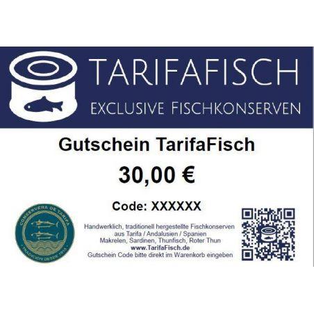 Gutschein TarifaFisch Fischkonserven 30 €