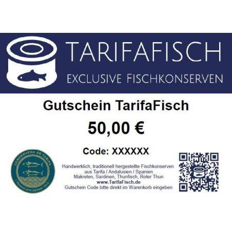 Gutschein TarifaFisch Fischkonserven 50 €